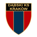 Tarcza i napis Dąbski KS Kraków