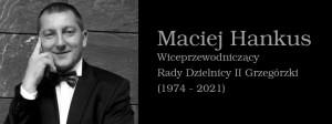 Zdjęcie Macieja Hankusa, imię i nazwisko, opis stanowiska